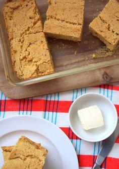 Fool-proof GF Cornbread #recipe! Vegan, too!