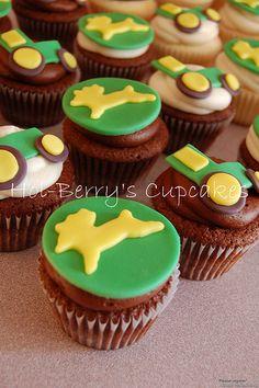 John Deere cupcakes