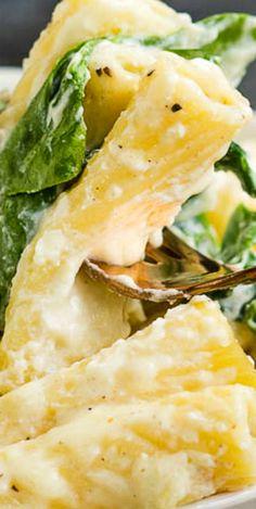 Spinach Ricottta Pasta Casserole #spinachricottapasta #spinachricottapastacasserole #spinach #ricotta Veggie Recipes, Pasta Recipes, Dinner Recipes, Cooking Recipes, Healthy Recipes, Ricotta Pasta, Spinach Ricotta, Pasta Casserole, Casserole Recipes