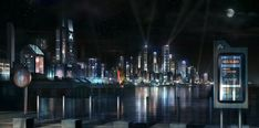 Acis Island: Ophion Foundation HQ by JamesLedgerConcepts on DeviantArt
