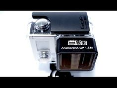 Anamorphic Lens For goPro.