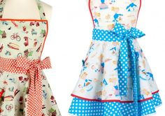 Vintage aprons, I want one!