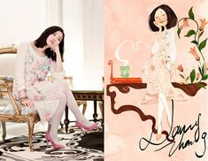 A spring with crayon colors (by Nancy Zhang) http://lookbook.nu/look/3256727-A-spring-with-crayon-colors