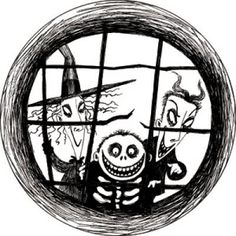 Lock, Shock, & Barrel // The Nightmare Before Christmas They are my Favorite characters
