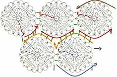 Pasatiempos entre hilos y puntadas: Túnica con diagrama