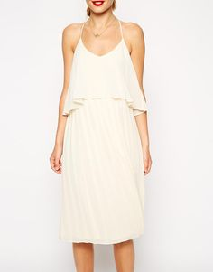 ASOS Cami Swing Dress with Pleated Skirt at asos.com 76a90ead4