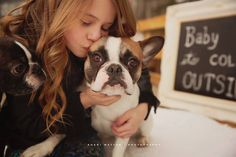 Oh and the fur babies of course. January 2016, Fur Babies, Boston Terrier, Abs, Children, Photography, Animals, Animales, Boys