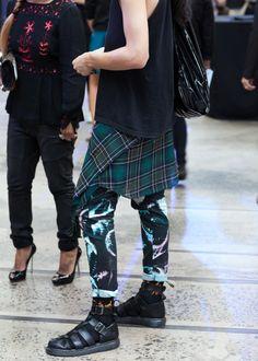 STREETSTYLE | Mercedes-Benz Fashion Week Australia Day #3 » Fucking Young!