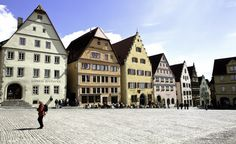 Rothenburg Ob der Tauber:The closest major tourist city to Rothenburg ob der Tauber is Munich, which sits about 130 miles southeast. Train service runs between the two cities and takes about three hours. You can also drive: The A7 autobahn runs right past town. (Courtesy Tournachon/Wikimedia Commons) (From: Coolest Small Towns in Europe)