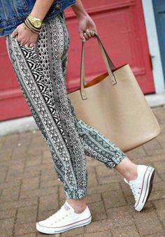 Tribal palazzo pants-Mix and match summer casual wear – Just Trendy Girls