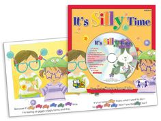 It's Silly Time!  Yes, there is a time to be quiet and still. But not right now because it's silly time! Track 1 is the story sung word-for-word so young readers can sing along with each page on their own. Tracks 2 to 12 are more fun, giggly-wiggly songs perfect for any silly time!  $4.99