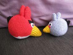 Olisushi imagine sa vie: Amigurumi red Angry Birds free english pattern