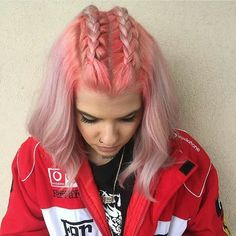 UNICORN TRIBE MEMBER Cassandra DeRosa killing it I had to post more!! Pink braids for life!!! SHOW SOME UNICORN LOVE AND GIVE HER A FOLLOW! #btconeshot_creativecolor16 #btconeshot_rainbow16 #btconeshot_hairpaint16 #behindthechair #modernsalon #americansalon #bangstyle #beautylaunchpad #hairinspiration #haircolor #rainbowhair #galaxyhair #unicorntribe #unicornhair #mylittleponyhair #vogue #elle #cosmopolitan #cosmoprof #licensedtocreate #buzzcutfeed #popsugar #hairstyles #unicorns #haircolorideas #highlights #haircut #hair #alternativehair #balayage by theunicorntribe