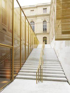 Refurbishment of the Pavilion Dufour Chateau De Versailles / Dominique Perrault Architecte