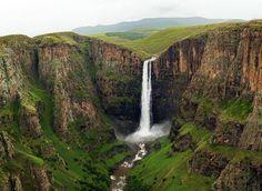 Maletsunyane Falls - Explore Lesotho