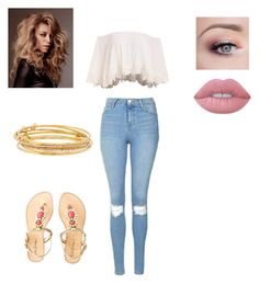 """""""ChILL DAY 💋"""" by kayla1021 ❤ liked on Polyvore featuring Topshop, Lilly Pulitzer, Lime Crime and Kate Spade"""