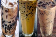 es cincau susu Milkshake Drink, Baby Food Recipes, Cooking Recipes, Jelly Desserts, Coffee Jelly, Love Eat, Indonesian Food, Coffee Recipes, Summer Drinks