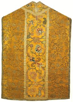 Chasuble established by Anna Jagiellon by Anonymous from Kraków or Warsaw (side fabric from Italy), ca. 1596 (PD-art/old), Muzeum Skarbca Katedralnego im. Jana Pawła II w Krakowie