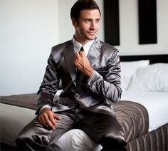 Look and feel like a million bucks every time you go to sleep with these Suit Pajamas.
