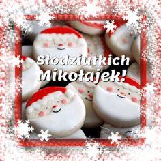 Kartka pod tytułem Słodkiego Mikołajkowego Dzionka! Christmas And New Year, Cake, Desserts, Dom, Tailgate Desserts, Deserts, Kuchen, Postres, Dessert