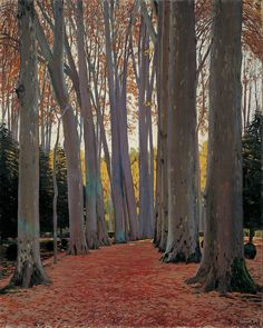http://roberitatesac.wix.com/roberita-tesac Santiago Rusinol (1861-1930), Avenue of Plane Trees, 1916.