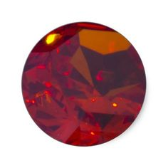 Fery Red and Closeup Sticker Jewels by Florals by Fred #zazzle #gift #photogift