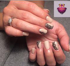 Anything for bd girl #nailtech #naildesign #polypolish #correction #matte #lace #nailporn #nailswag #torontonails #gelnails