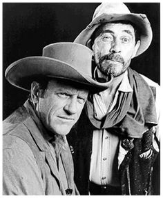 James Arness played Marshall Matt Dillon on Gunsmoke but that guy in the background that everyone grew to love was Ken Curtis, known for his role as Deputy Festus Haggen on the long-running CBS show.