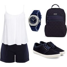 Casual sporty outfit