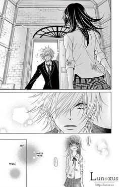 """I love that, """"My Teru"""". Gives me so much warm-fuzzies and squeee! I want Tasuku... Dengeki Daisy 72 Page 15"""