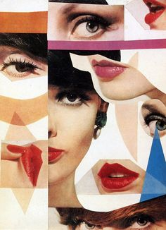 Photo montage by Tom Palumbo, 1961 From the book: Beauty Photography in Vogue. Photo Design, Photo, Photography Projects, Photo Collage, Love Photography, Photomontage, Retro Photo, Fashion Collage, Collage Design