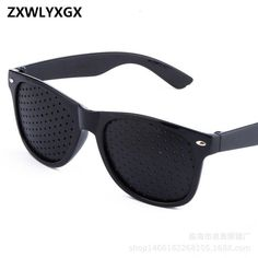 83b9e988ab 2018 new fashion Men Women Vision Care Pin hole Sunglasses Anti-myopia –  KOREAIDOLFEVER