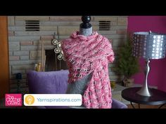 The Crochet Lattice Lace Wrap pattern is a neat concept of crochet that combines chains to make squares or diamonds into the pattern. Crochet Afgans, Knit Or Crochet, Crochet Scarves, Crochet Clothes, Crochet Hooks, Free Crochet, Hand Crochet, Crochet Things, Crochet Crowd