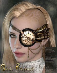 Clock Eyepatch V4/A4/G4