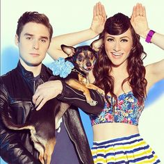 Karmin! I love them soooo much! Nick is so hot
