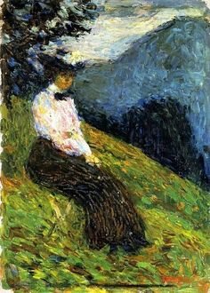 Wassily Kandinsky, Gabriele Münter, 1902