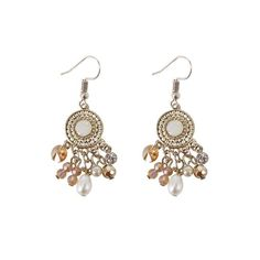 Available on Memplaza Marketplace at only $11.62 or with Membidder starting off at $1.00 during live auctions! Worldwide Shipping. Copper Necklace, Pendant Earrings, Pearl Pendant, Women's Earrings, Long Tassel Earrings, Simple Earrings, Fringe Earrings, Diamond Earing, Stainless Steel Earrings