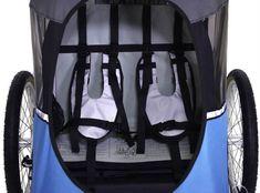 WIKE Junior – kompaktowa przyczepka rowerowa dla dwójki dzieci Baby Strollers, Baby Prams, Prams, Strollers