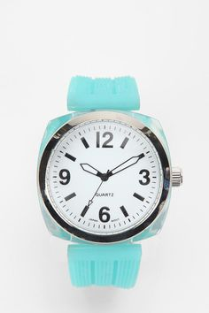 Brighter Day Menswear Watch in Turquoise I WANT