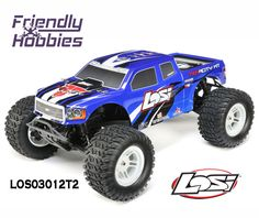 Losi 1/10 TENACITY Monster Truck 4WD RTR with AVC - $399.99 Rc Cars And Trucks, Monster Trucks, Vehicles, Remote, Hobbies, Blue, Car, Pilot, Vehicle
