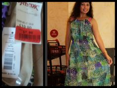 Analiza scored this Romeo and Juliet dress on clearance for $7, compare at $30! #maxxinista #dress #fashion