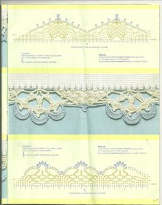 crochet border: barradinhos | make handmade, crochet, craft