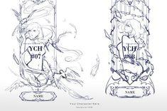 Auction : YCH #07-08 [CLOSE] by Popza10CM