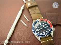 Ever-lasting color, only because it is classic~ SEIKO Diver 200m SKX009 #太空人錶帶 #精工錶帶 #taikonautstrap #taikonaut #精工 #SKX009