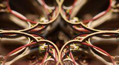 3D Laser Cut Paper Art by Eric Standley