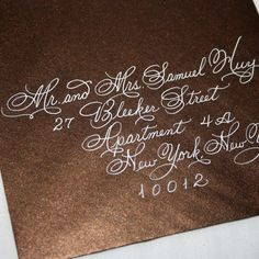 calligraphy envelopes - Buscar con Google