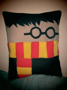 Harry Potter Decorative Cushion Pillow. £20.00, via Etsy.