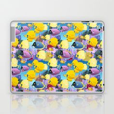coral reef Laptop & iPad Skin by kociara - $25.00