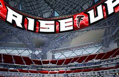 Mercedes-Benz Stadium Will House Largest LED Video Display In Sports http://www.sporttechie.com/2016/11/01/sports/nfl/mercedes-benz-stadium-will-house-largest-led-video-display-in-sports/