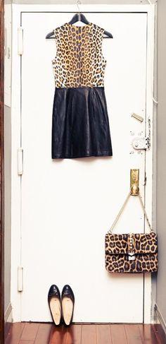 Blair Eadie | The Coveteur | Leopard | Dress